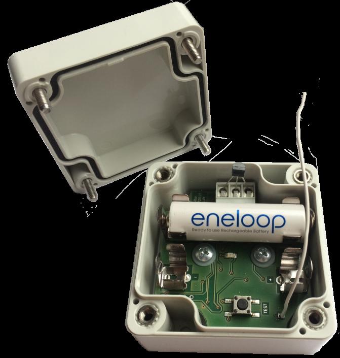 Funk-Sensorbox zur Temperaturüberwachung (Bis zu 20x DS18b20 Sensoren am 3-Leiter OneWire-Bus)