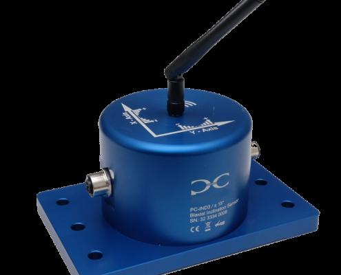 Inklinometer mit Antenne