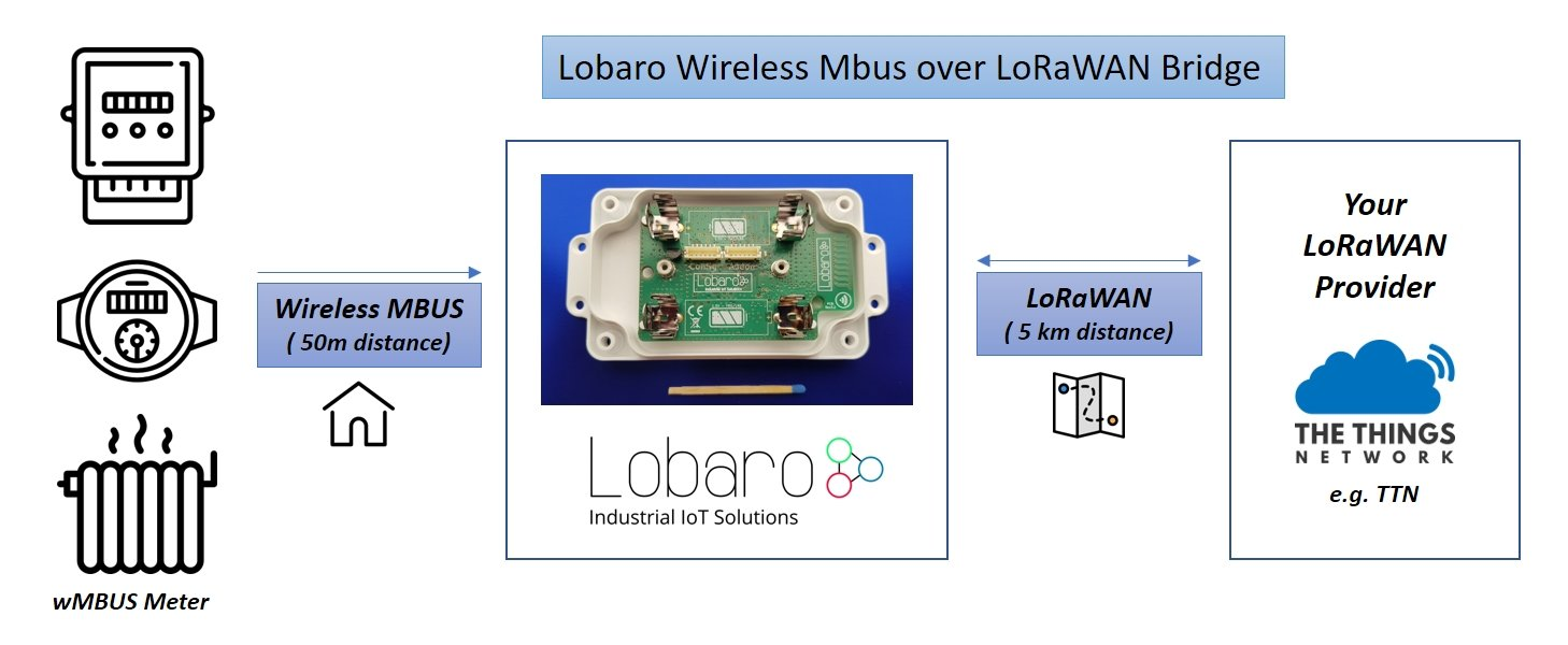 wMBUS over LoRaWAN Bridge