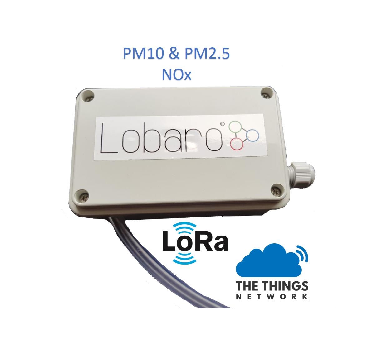 LoRaWAN Feinstaubsensor – Lobaro com – IoT Sensoren, Backends und