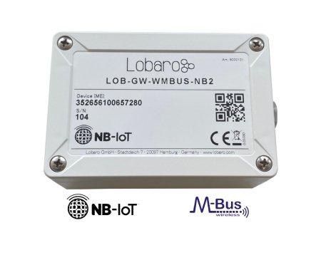Narrowband IoT LTE CAT M1 wireless M-Bus Gateway celluar