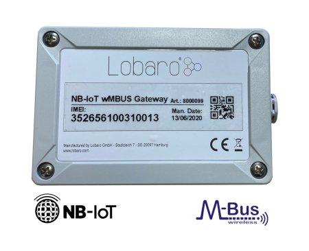 Narrowband IoT LTE wireless M-BUS Gateway