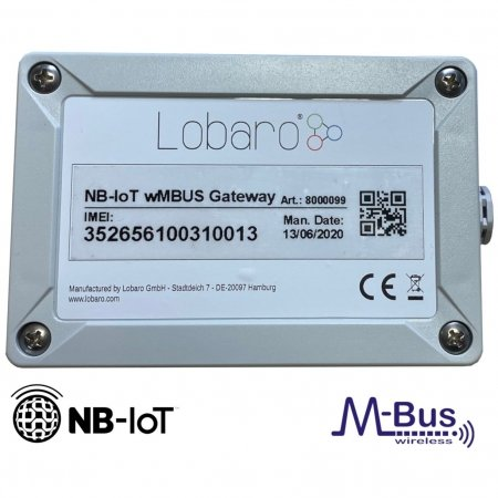 Narrowband IoT LTE wireless M-BUS Gateway