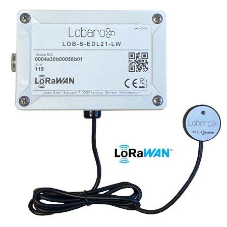 Stromzähler LoRaWAN Auslesung EDL21