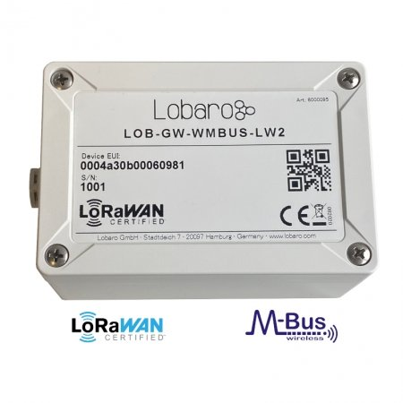 LoRaWAN wireless M-Bus Bridge and range extender