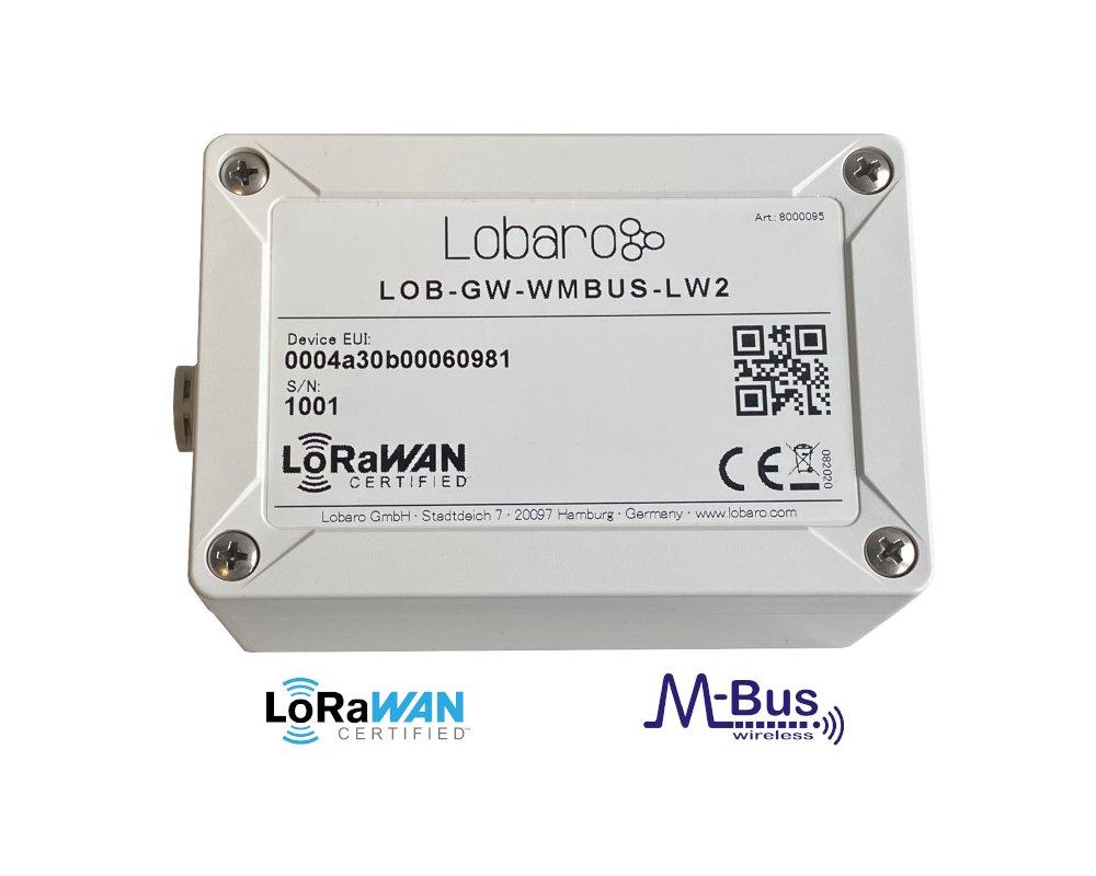 LoRaWAN wireless M-Bus Bridge and range extender