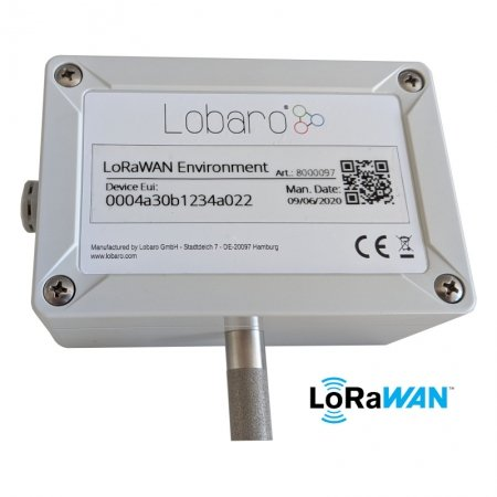 LoRaWAN Environment Sensor